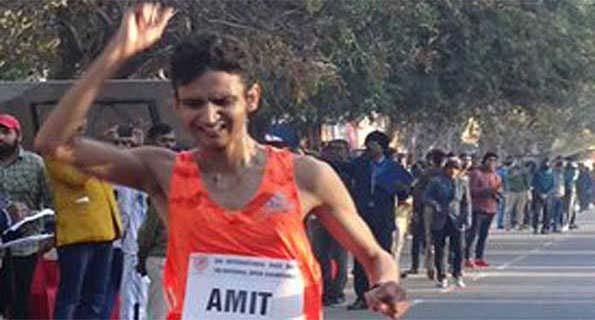 अमित खत्री ने 10 हजार मीटर पैदल चाल में जीता रजत
