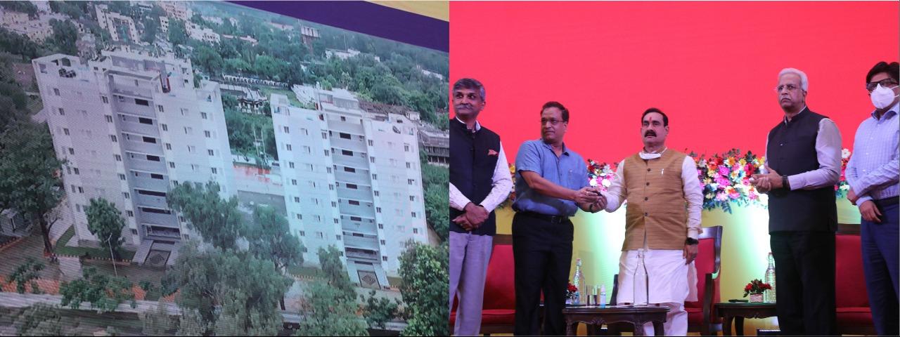 आगामी 3 वर्षों में अधिकतम पुलिस आवास निर्माण की रहेगी कोशिश – डॉ. मिश्रा 1556 पुलिस आवास-गृहों का हुआ वर्चुअल लोकार्पण