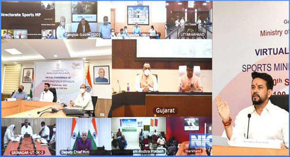 देश में खेल इंफ्रास्ट्रक्चर के लिए एकीकृत डैशबोर्ड बनाया जाएगा : अनुराग ठाकुर