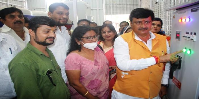 प्रधानमंत्री के जन्म दिवस पर जिले को मिली ऑक्सीजन प्लांट की सौगात