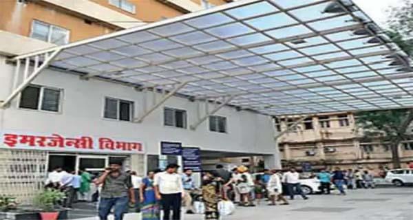 हमीदिया अस्पताल में एसी का आउटर चोरी