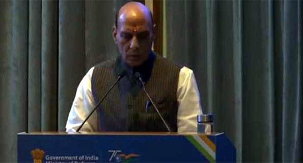 सात रक्षा कंपनियों का गठन ऐतिहासिक निर्णय: राजनाथ