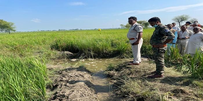 नहर से पानी लेने के विवाद पर वृद्ध किसान की हत्या