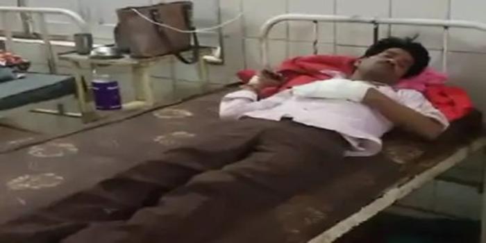 शिवपुरी में युवक को गोली मारी